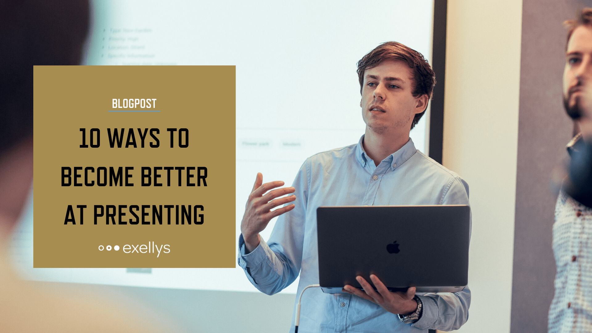 10 ways to become better at presenting