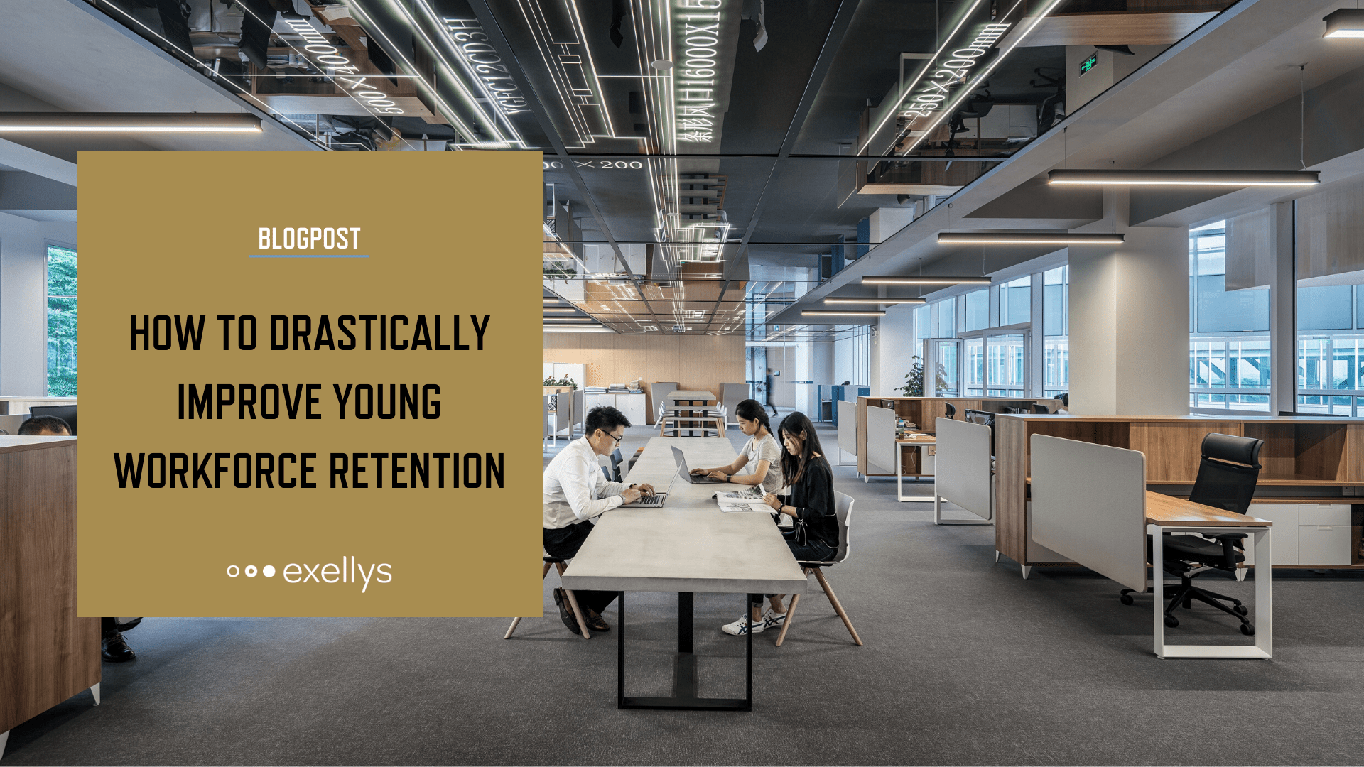 How to drastically improve young workforce retention - LinkedIn share image
