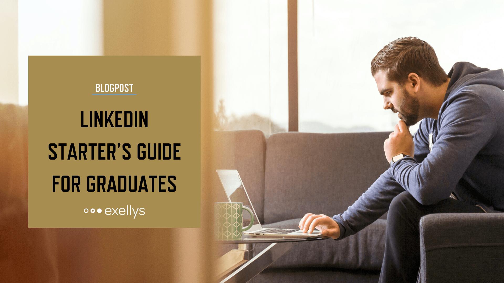 LinkedIn starter's guide for graduates - Social share image