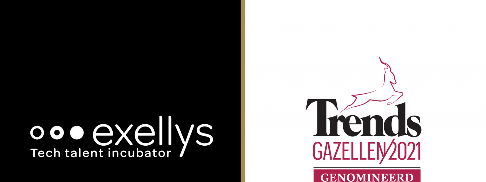 Exellys is nominated for Trends Gazellen 2021 - Blogpost cover